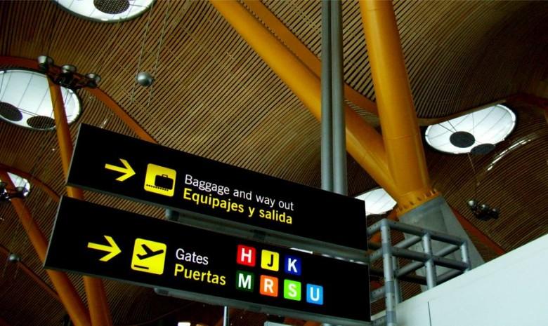 투우의 뿔을 찾아라, 마드리드 바라하스 국제공항