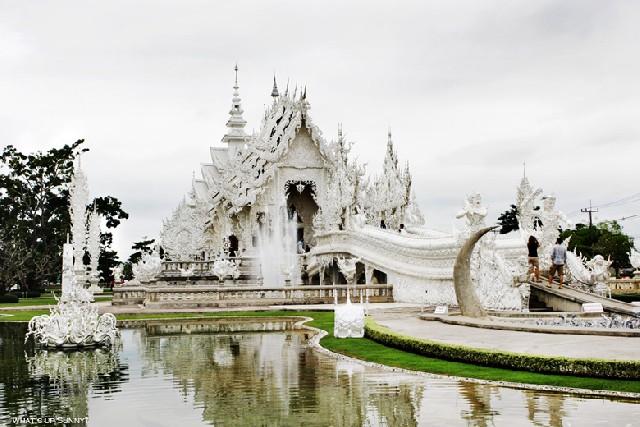 기묘한 침묵, 태국 치앙라이 눈꽃사원