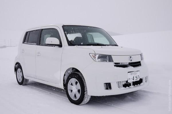 홋카이도, 겨울 렌터카 여행 팁