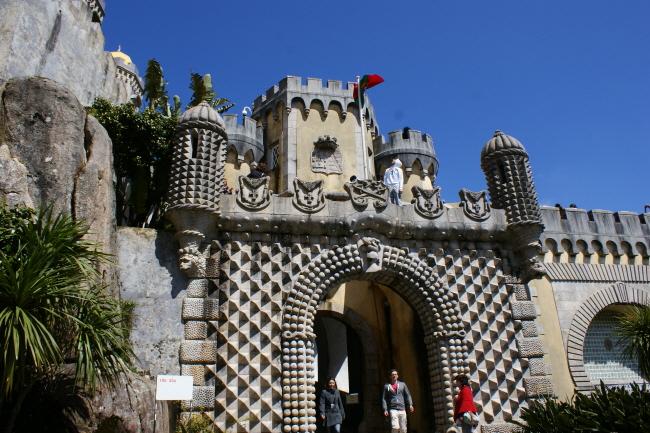 신트라의 페나 궁전, 동화가 실존하는 곳