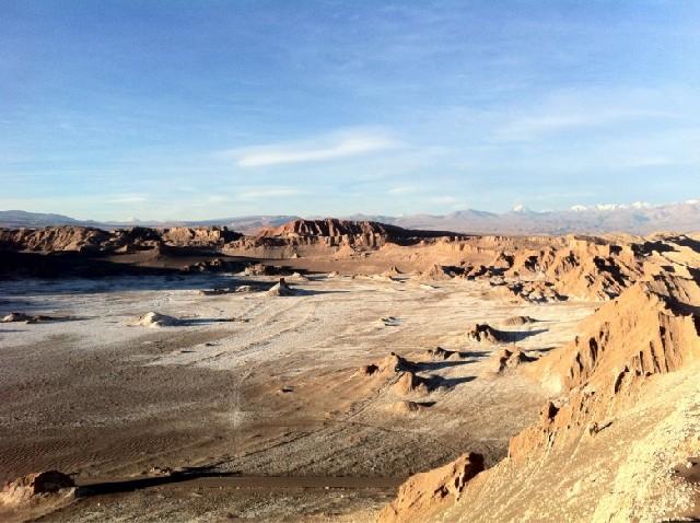 사막에 숨겨진 달의 계곡, 산 페드로 데 아따까마