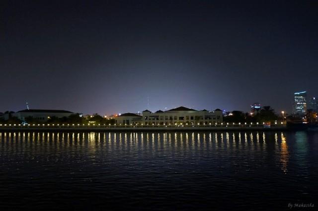 두바이 환상야경, 크루즈로 즐기기
