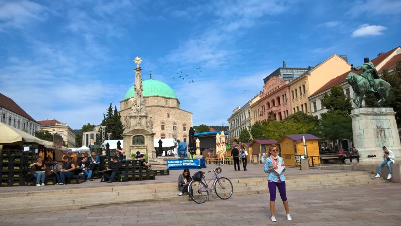 헝가리 소도시 여행 - 페치