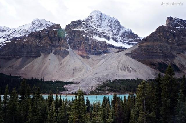 여기는 겨울왕국, 캐나다 아이스필드 파크웨이