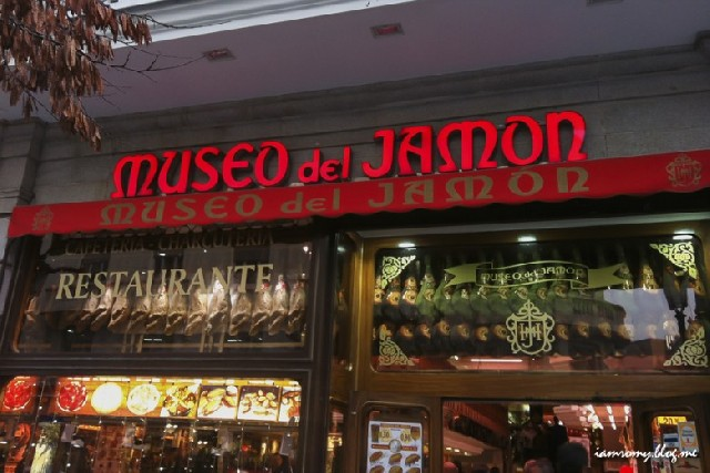 살룻! 하몽하몽 : 마드리드 하몽박물관 Museo del Jamon
