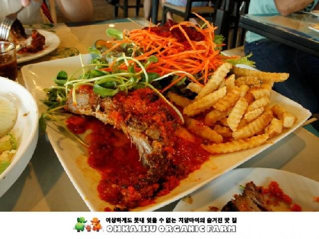 잊을 수 없는 치앙마이의 맛 집, 오카주(Ohkajhu Organic Farm)