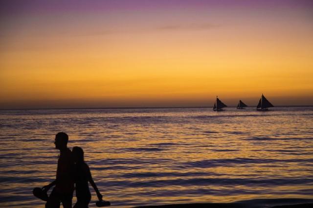 바다, 어디까지 즐겨봤니? 보라카이 화이트비치