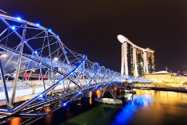 싱가포르의 밤은 어떤 모습일까?
