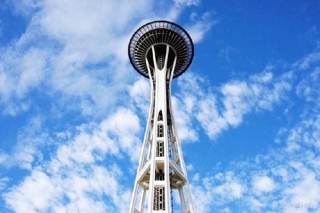 시애틀 최고 랜드마크, 스페이스 니들의 낮과 밤