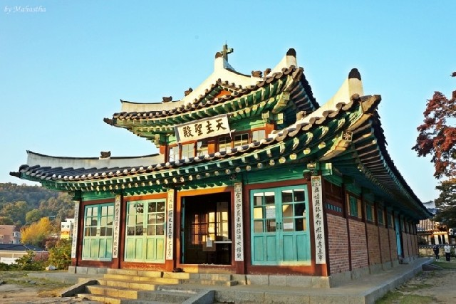 가을날 강화도 북쪽 – 고려궁지, 대한성공회강화성당, 화문석문화관 & 예가펜션