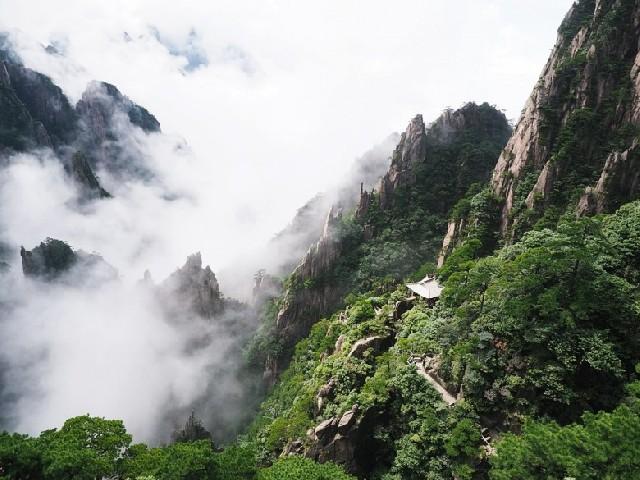 구름 속의 산책, 황산에서의 멋진 하루