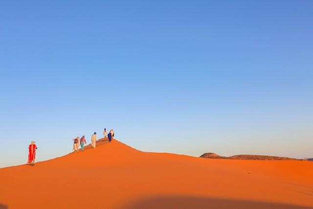 모로코 여행의 하이라이트, 진짜 사하라와 만나다