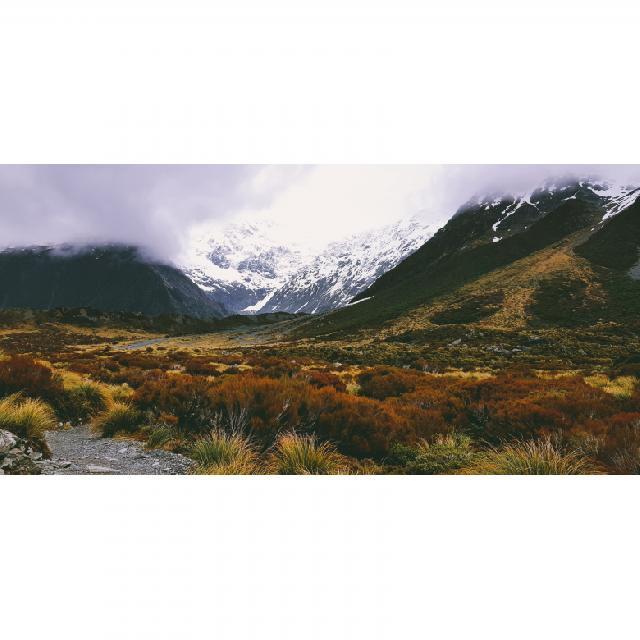 뉴질랜드 걷기 - 후커밸리 트래킹