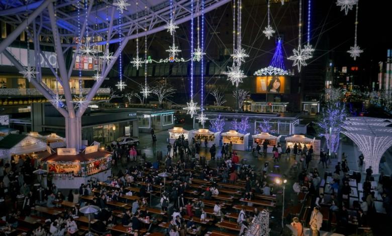 후쿠오카 하카타의 크리스마스 마켓을 즐기다