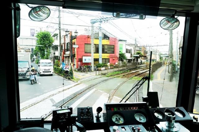도쿄, 노면 전차로 하루 여행