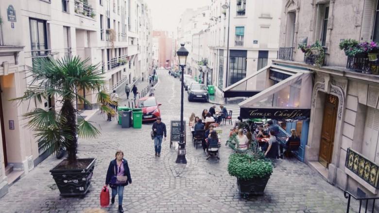 파리 몽마르트르 언덕 산책, 다시 찾은 식료품점