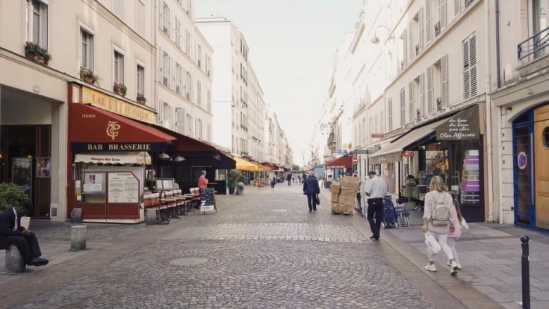가을 파리여행, 에펠타워와 살롱 드 떼 마리아주 프레르