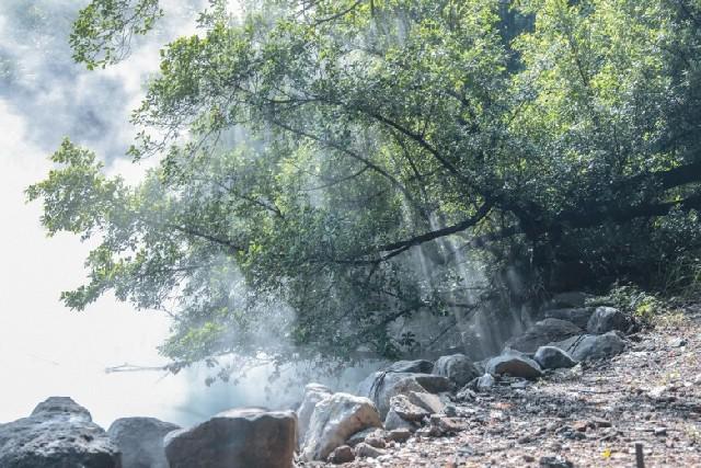타이베이 외곽 온천 휴양지 베이터우 즐기기