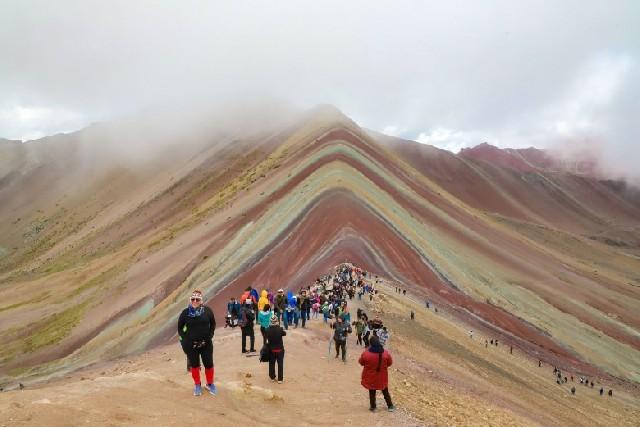 페루의 무지개 산, 비니쿤카로의 여정