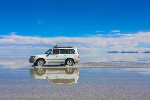 세상에서 가장 큰 거울, 우유니 소금사막