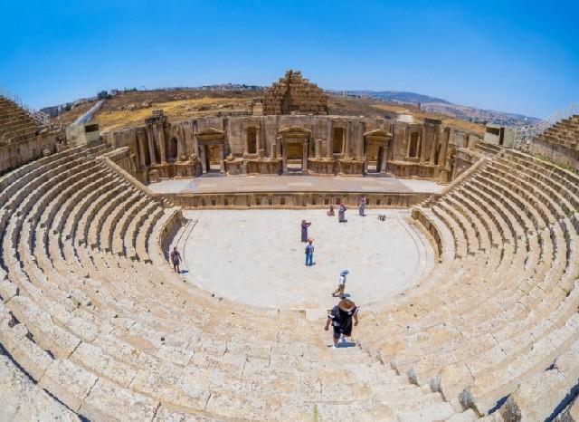 요르단에서 만난 고대 로마의 숨결, 제라쉬 유적지