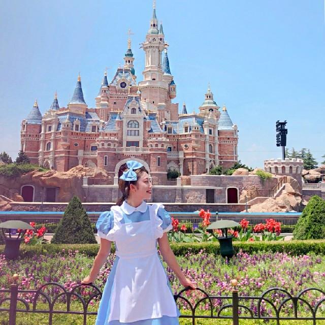 앨리스 공주로 변신해 다녀온 상해 디즈니랜드!