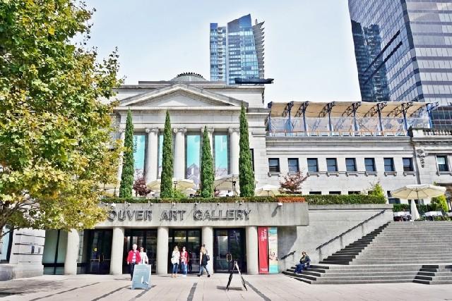 밴쿠버의 달콤한 시간, 미술관과 카페