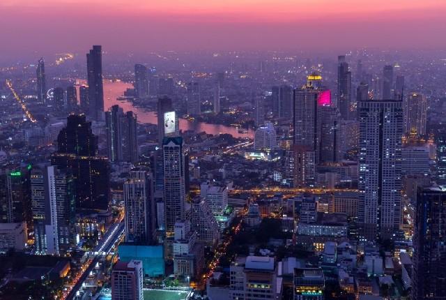 방콕 여행, 초신상 핫플레이스 마하나콘 스카이워크