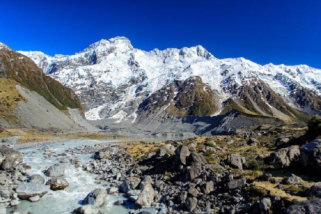 뉴질랜드 남섬 최고봉, 마운트 쿡(Mt.Cook)  트레킹 코스 추천