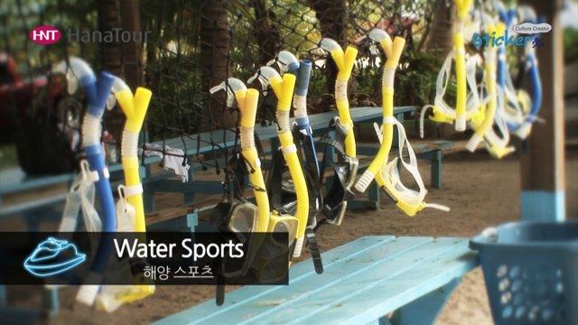 [괌] 푸른 바다 위에서 즐기는 해양스포츠 (제트스키, 바나나보트)