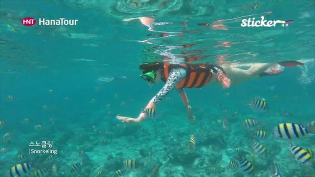 [세부여행]세부 스노클링, CEBU Snorkeling/ 스티커, 하나투어